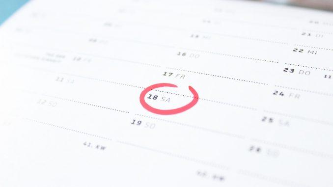 Probezeit Kalender